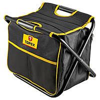 Табурет з сумкою для інструментів Topex