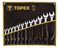 Набір ключів комбінованих TOPEX, 13 -32 мм, 12 шт