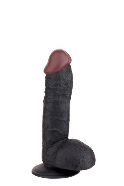 Вибромассажер BIGSTUFF 7.5INCH, BLACK
