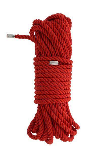 Веревка для бондажа BLAZE DELUXE BONDAGE ROPE 10M RED
