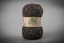 Пряжа шерстяная Vivchari Ethno-Natura 250, Color No.204 натуральный коричневый