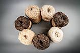 Пряжа шерстяная Vivchari Ethno-Natura 250, Color No.205 натуральный темно-коричневый, фото 4