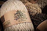 Пряжа шерстяная Vivchari Ethno-Natura 250, Color No.205 натуральный темно-коричневый, фото 5