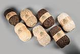Пряжа шерстяная Vivchari Ethno-Natura 250, Color No.205 натуральный темно-коричневый, фото 8
