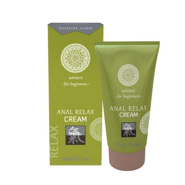 Крем анальный расслабляющий SHIATSU  Anal Relax Cream, 50 мл