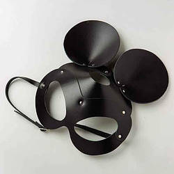 Маска Mickey Mouse Leather, Black