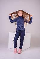 Водолазка утепленная р.152,158,164 SmileTime для девочки Melange, синяя, фото 1