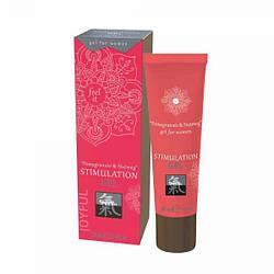 Гель для інтимної стимуляції Shiatsu Гранат і Мускатний горіх, 30 мл
