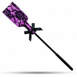 Стек ажурный, Purple & Black