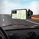 Автомобильный Магнитный Держатель на Решетку для смартфона IPhone и Android с Поворотом 360 Hoco CA67, фото 3