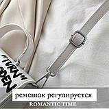Женская классическая сумка CASH INSIDE белая, фото 7