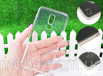 Прозрачный ультратонкий силиконовый чехол для Meizu (Мейзу) M8 Lite \ V8