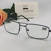 +2.0 Готовые мужские очки для коррекции зрения в металлической оправе хамелеон линза стекло