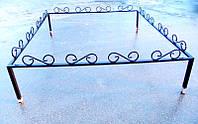 Металлическая ритуальная ограда