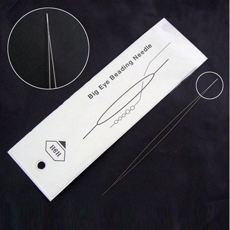 Игла раздвоенная для ручного шитья из нержавеющей стали для рукоделия