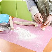 Коврик силиконовый Kamille 50*40 см для раскатки теста и выпечки