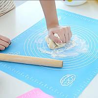 Килимок силіконовий Kamille 60*45 см для розкачування тіста і випічки, фото 1