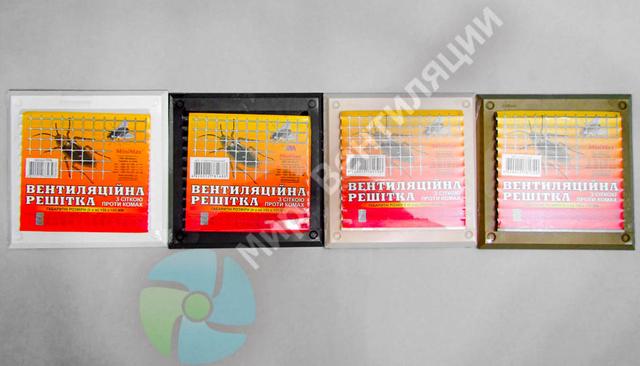 вентиляционные решетки 155*155 цветные