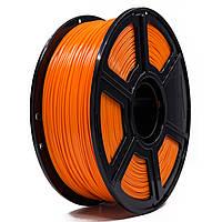 PLA пластик для 3D принтера 1,75 мм 0,75 кг (Оранжевый)