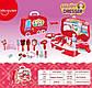 Детский игровой набор Юный стилист Happy Dresser для девочек в кейсе на колесиках, фото 6