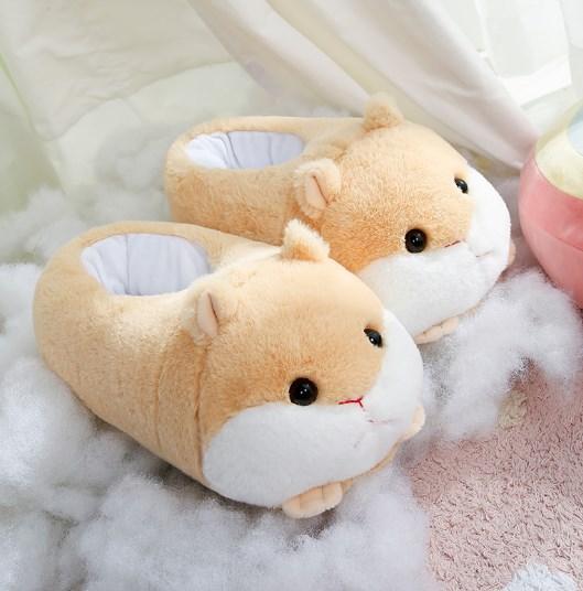 Тапочки хомячки