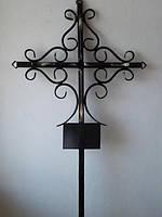 Крест кованый на могилу