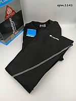 Термокостюм Columbia Чорний із білим (Кофта + штани)