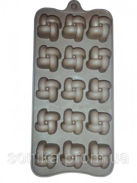 Форма силіконова Шоколад/Лід Empire EM7152
