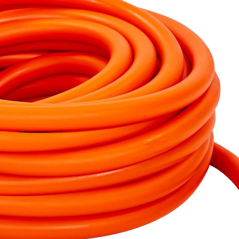 Жгут эластичный трубчатый спортивный FI-6253-6 (латекс, d-6 x 10мм, оранжевый)