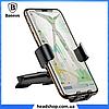 Автодержатель Baseus Metal Age Gravity Car Mount (SUYL-D) Grey, держатель для телефона, фото 3