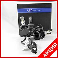 Led лампы - H4 6500К 36W светодиодные лампы S1 с активным охлаждением
