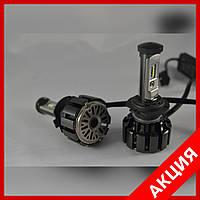 Светодиодные автомобильные Led лампы Turbo T6-H7 35W 3500 LM 6000К