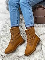 Ботинки женские зимние 8 пар в ящике коричневого цвета 36-41, фото 2
