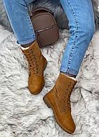 Ботинки женские зимние 8 пар в ящике коричневого цвета 36-41, фото 3