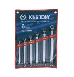 Набор ключей накидные 6шт. (6-17 мм)