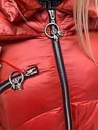 Пальто длинное пуховик Tarun Y020-149-JH004, фото 7