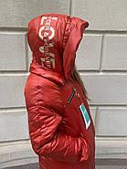 Пальто длинное пуховик Tarun Y020-149-JH004, фото 4