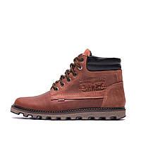 Чоловічі зимові шкіряні черевики Levis Expensive Fox р. 40 41 42 43 44, фото 1