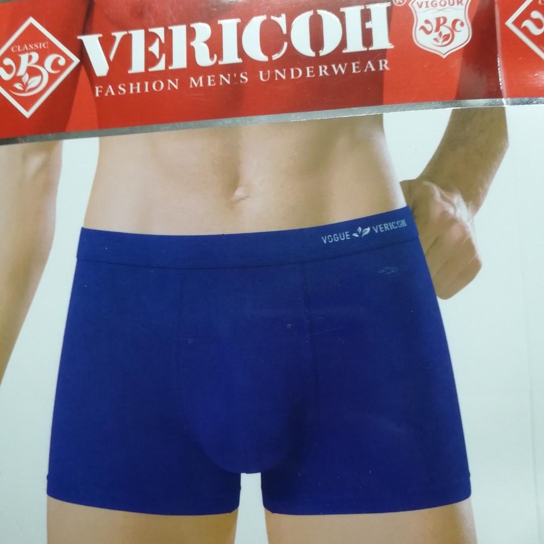 Однотонные трусы-шорты хл Вог Верикон/ мужские боксеры Vericoh (Верикон), качественные