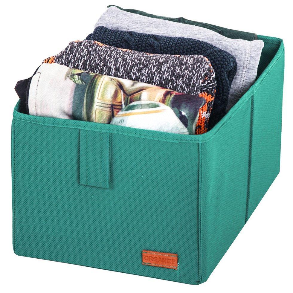 Ящик-органайзер для хранения вещей M ORGANIZE HY-M-azure лазурь