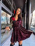 Платье вечернее блестящее с пайетками BRT2519, фото 4