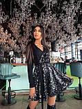 Платье вечернее блестящее с пайетками BRT2519, фото 2