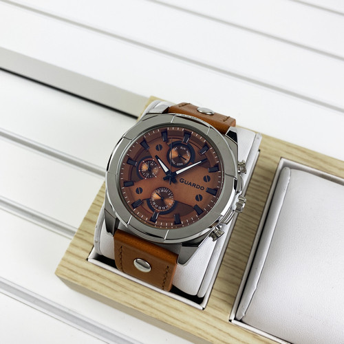 Guardo 10281-2 Brown-Silver
