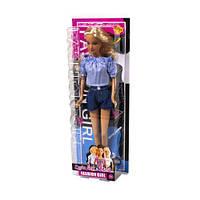 """Кукла """"Defa Lucy"""", в голубой кофточке 8400"""