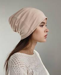 Демисезонные шапки-чулки