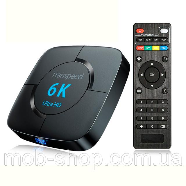 Смарт ТВ приставка Transpeed 6K 4/32Gb