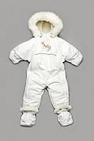 Детский зимний комбинезон-трансформер на меху 'Baby snow'  для новорожденных, фото 1