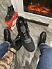 Мужские зимние кроссовки Nike Lunar Force 1 Duckboot '17 (Premium-class) серые с мехом, фото 2