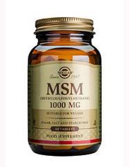 Solgar Мсм MSM 1000 mg (60 tab) 60 tab