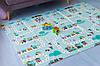 Детский коврик складной развивающий термоковрик двусторонний 2 м х 1,8 м х 10 мм Дорога и животные, фото 5